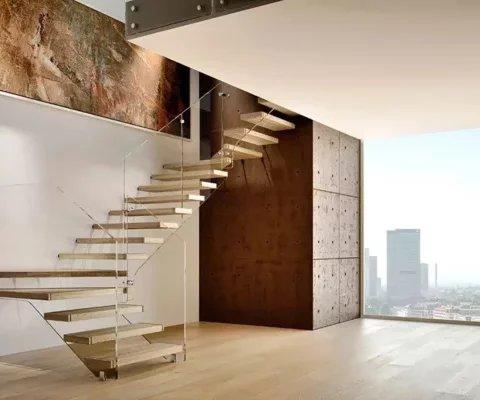 Volx Menuiseries Services - VOLX - Escaliers suspendus